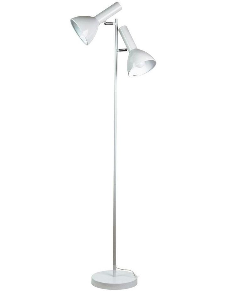 Vespa Twin Floor Lamp White image 1