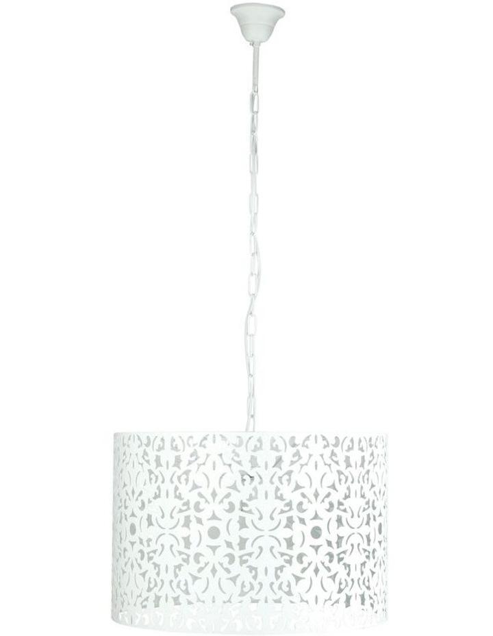 Vicky 45cm Pendant Light White image 1