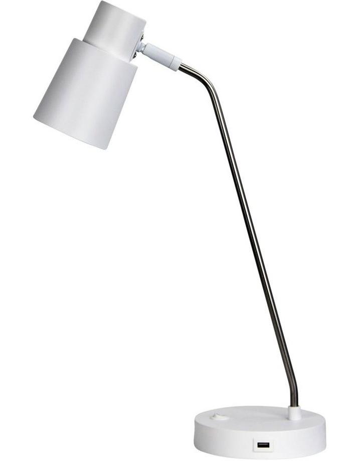 Rik Desk Lamp Brushed Chrome image 1