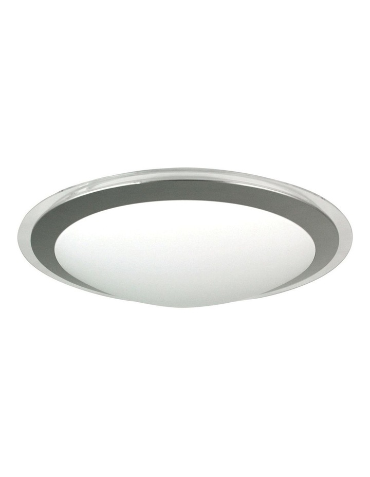 Vello 22W Acrylic Oyster Ceiling Light Round image 1