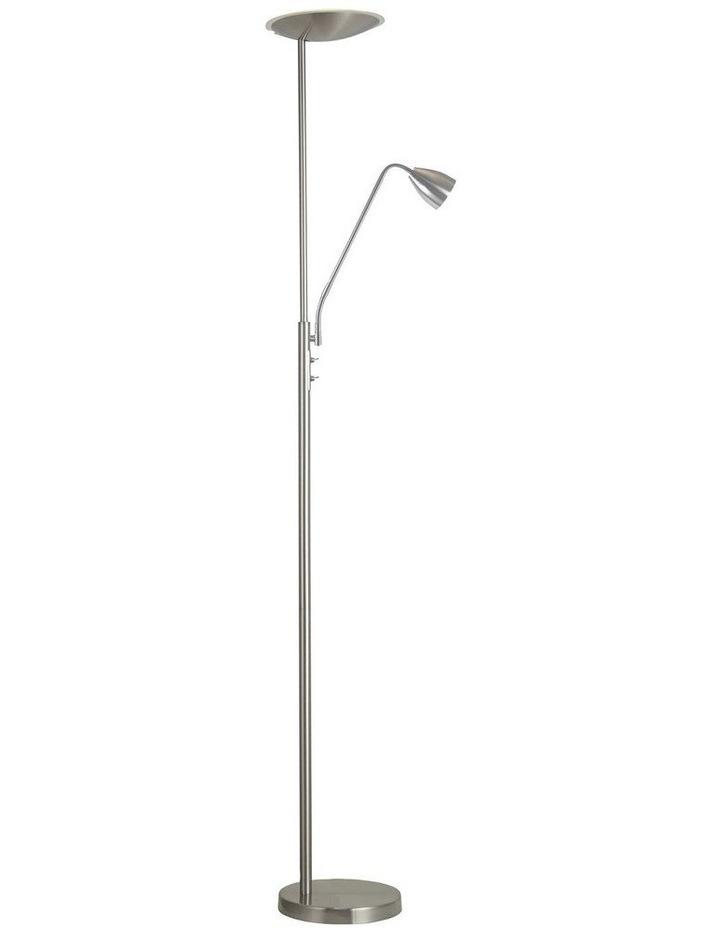 Up2 Led Mother and Child LED Floor Lamp Brushed Chrome image 1