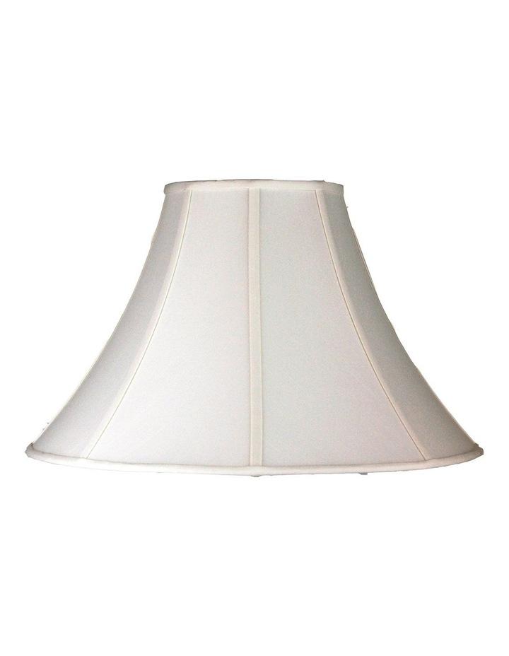 46Cm Lamp Shade Off-White Shantung Large image 1