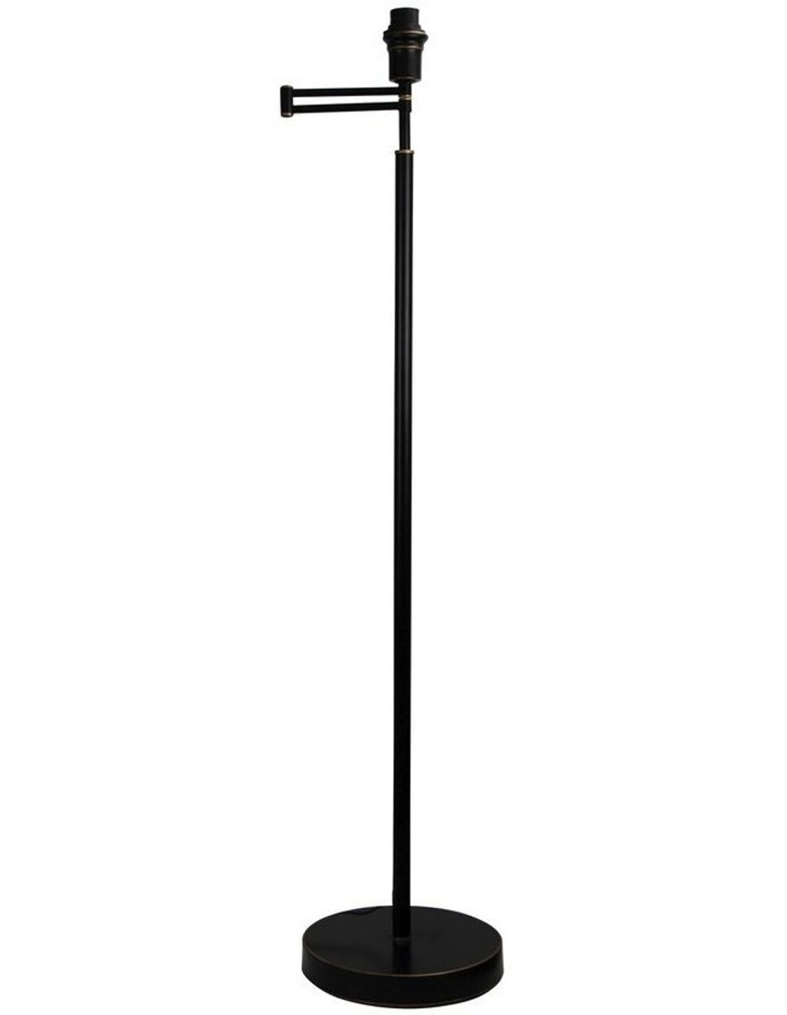 Kingston Swing Arm Floor Lamp Base Only Rubbed Bronze image 1