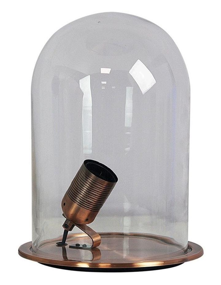 Franklin Table Lamp Antique Chrome image 1