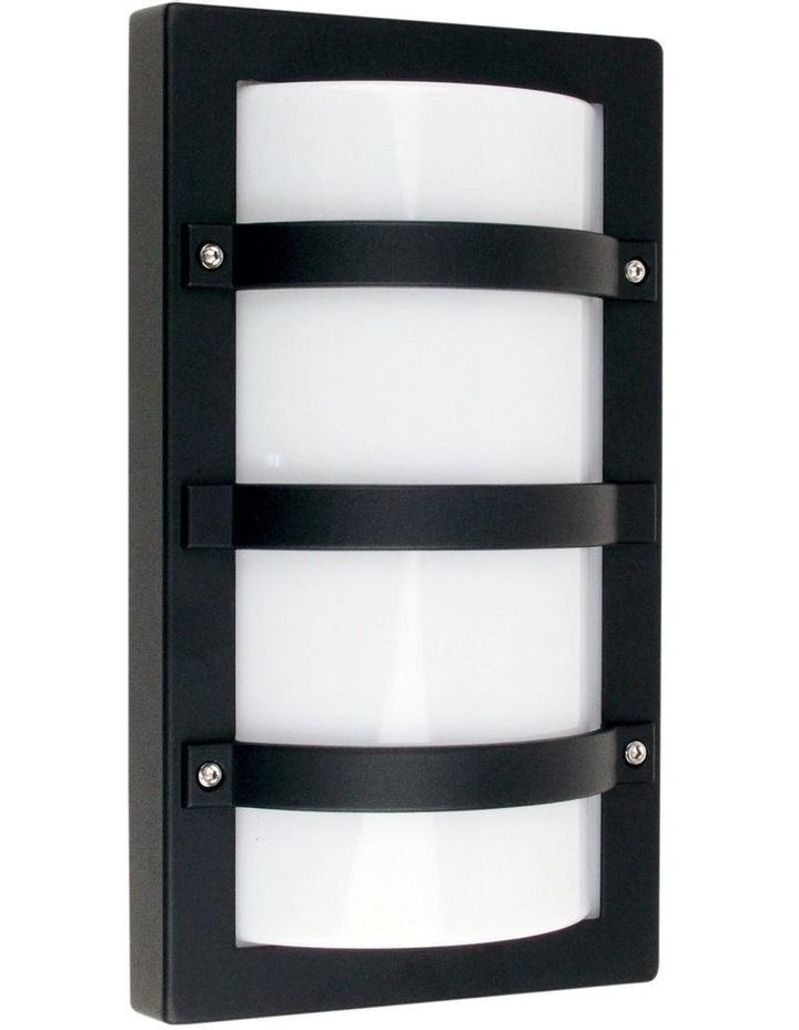 Trio Exterior Bulkhead Light Black image 1