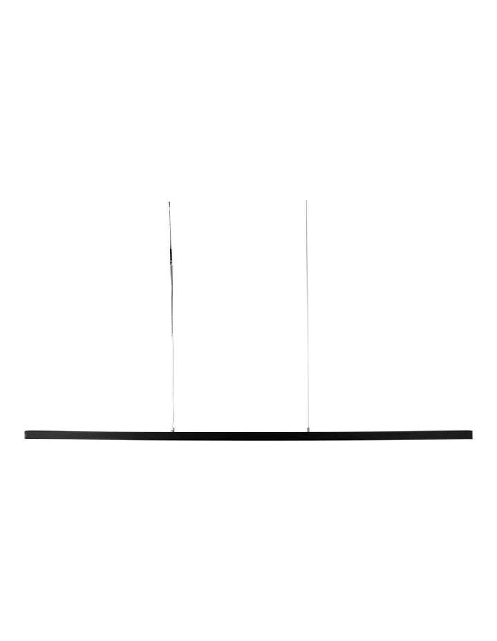 Shard 150cm LED Pendant Light Black image 1
