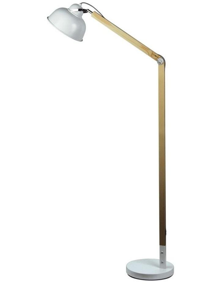 Steam Scandustrial Floor Lamp White image 1