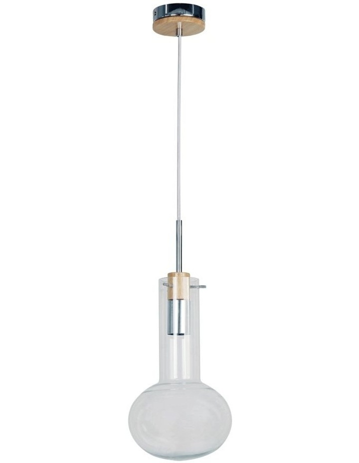 19cm Holbeck Scandinavian Glass Pendant Light image 1