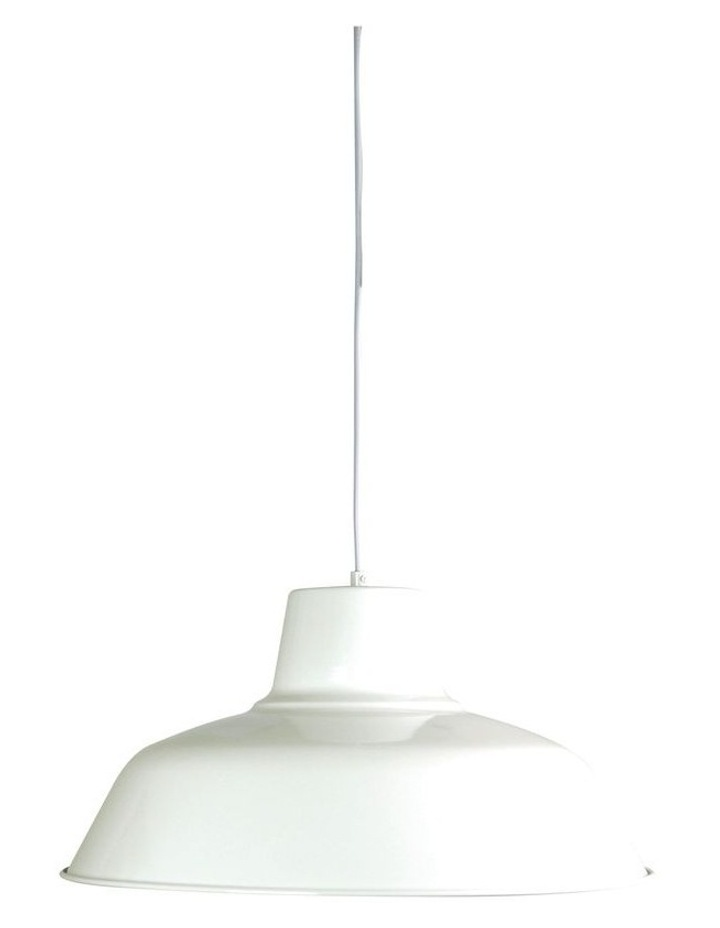 Forge 430 Single Pendant Light White image 1
