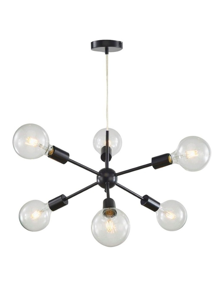 Sputnik Groovy Satellite Pendant Light 6 Lights image 1