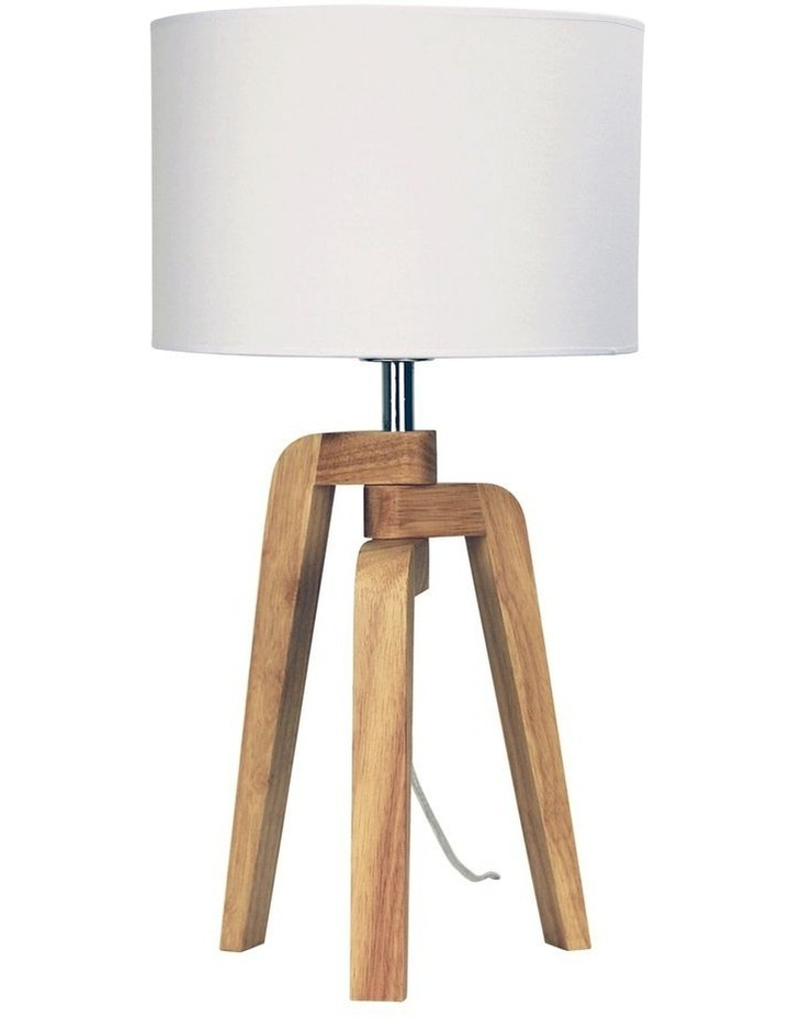 Lund Scandinavian-Style Table Lamp image 1