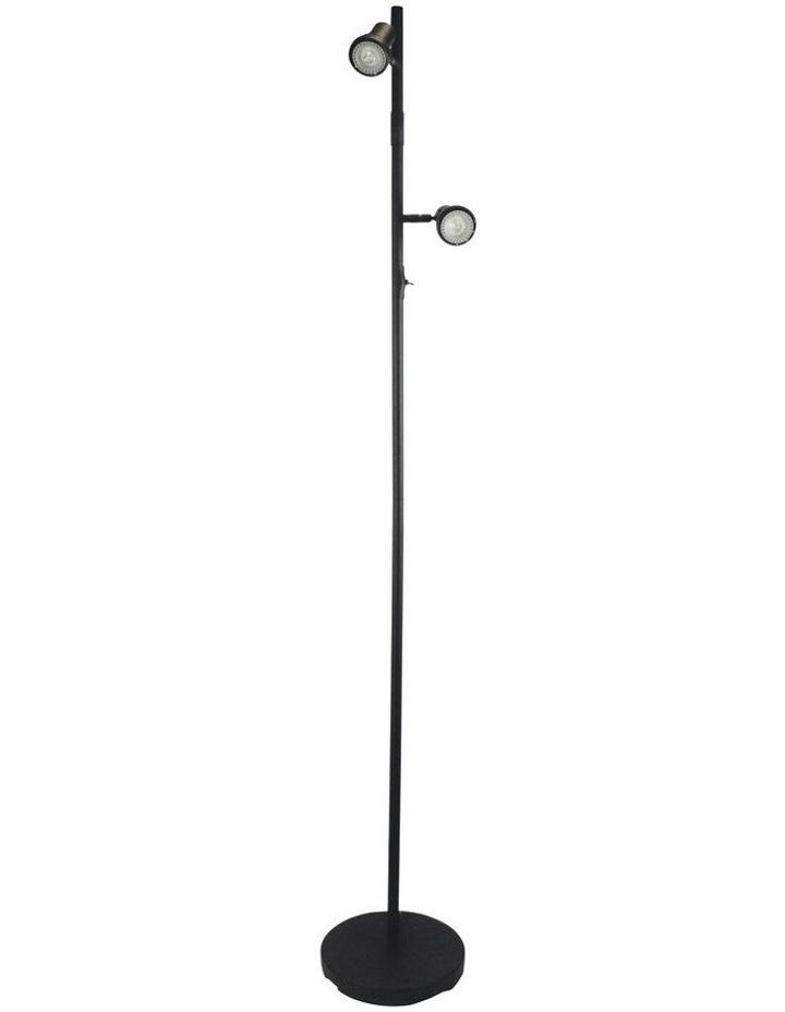 Daxam LED Twin Floor Lamp Black image 1