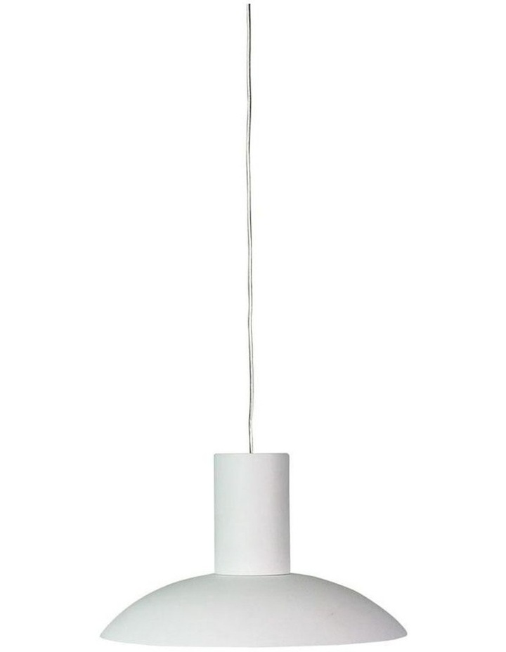 Curva LED Contemporary Pendant White image 1