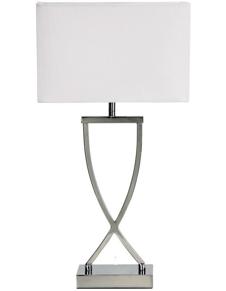 Chi Table Lamp Chrome image 1