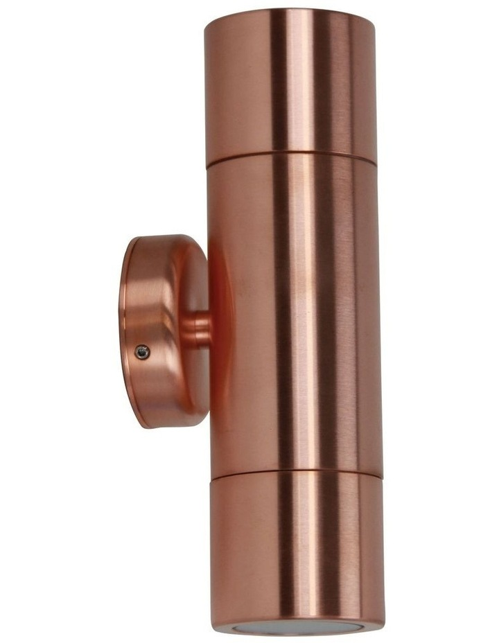 Oxley Up/Down Exterior Light Copper image 1