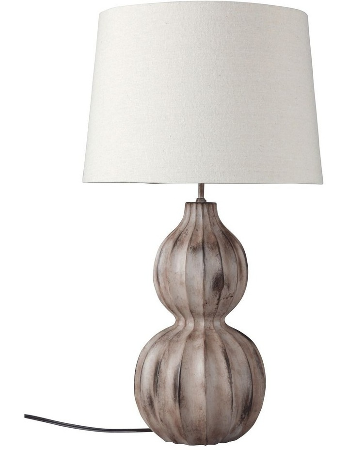 Autumn Ribbed Table Lamp image 1