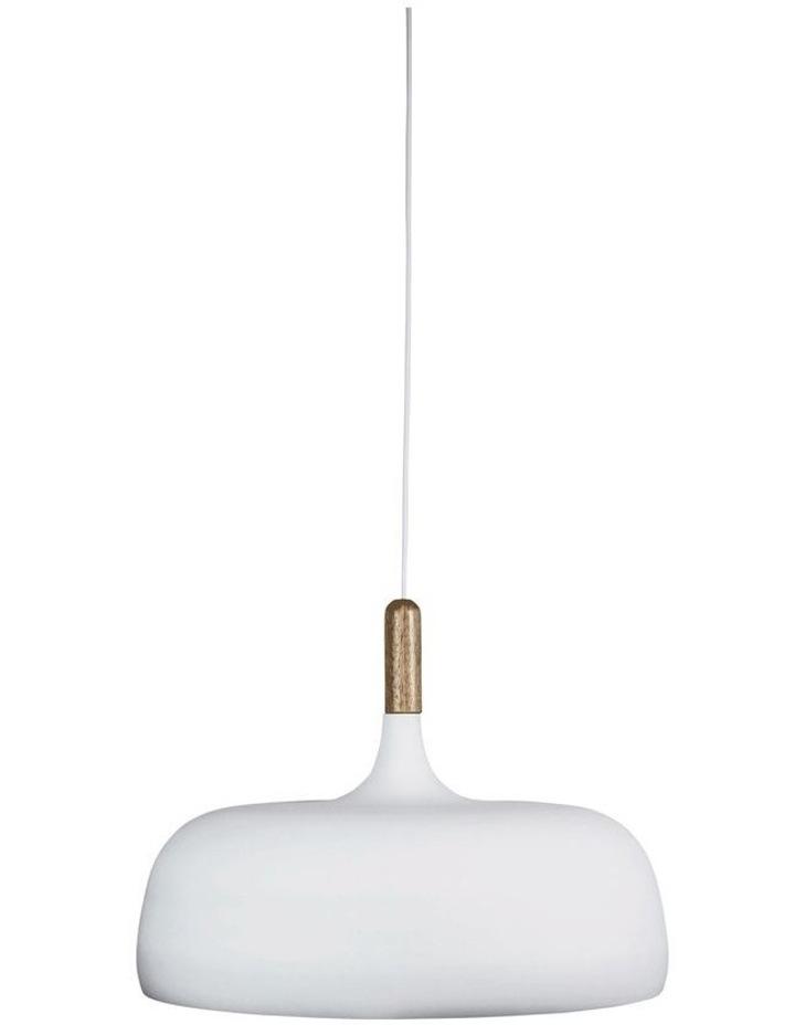 Malt 48cm Scandustrial Designed Pendant White image 1
