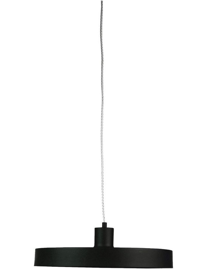 Orbis Single Pendant Light Black image 1