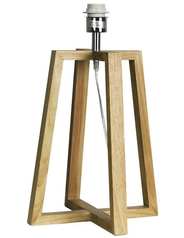 Malmo Wooden Table Lamp Base image 1