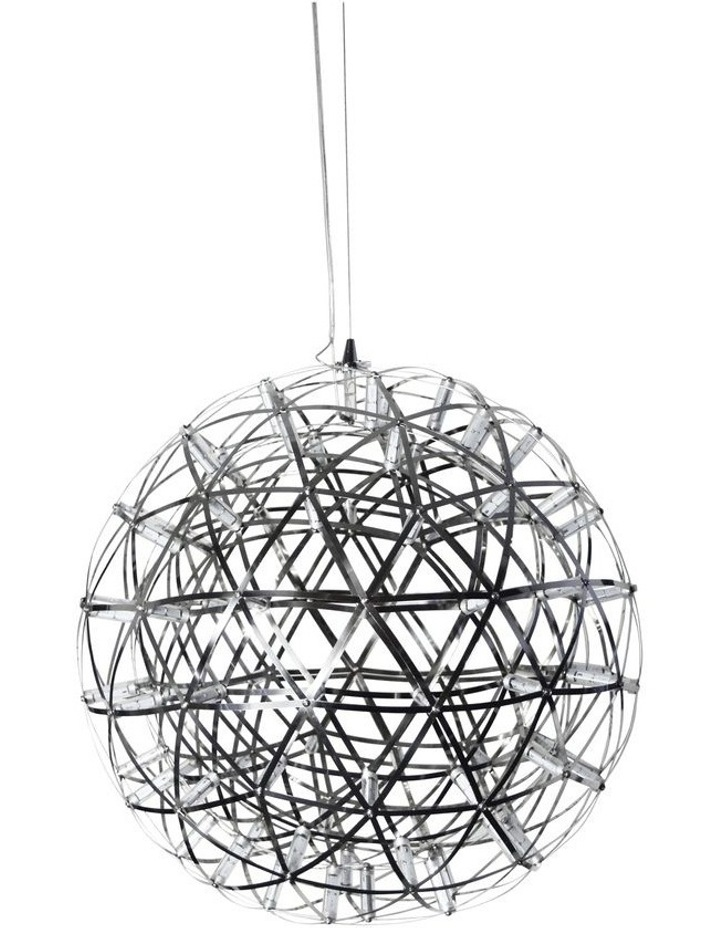 Spatial Geometric LED Pendant Light 55cm image 1