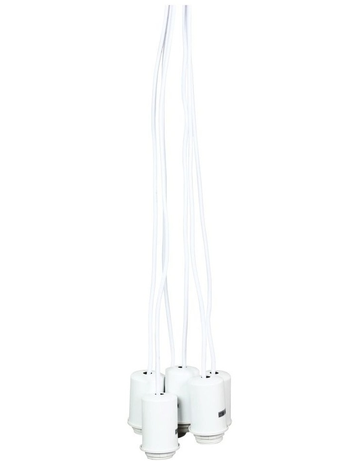 Pop Multi Drop Pendant Light White image 1