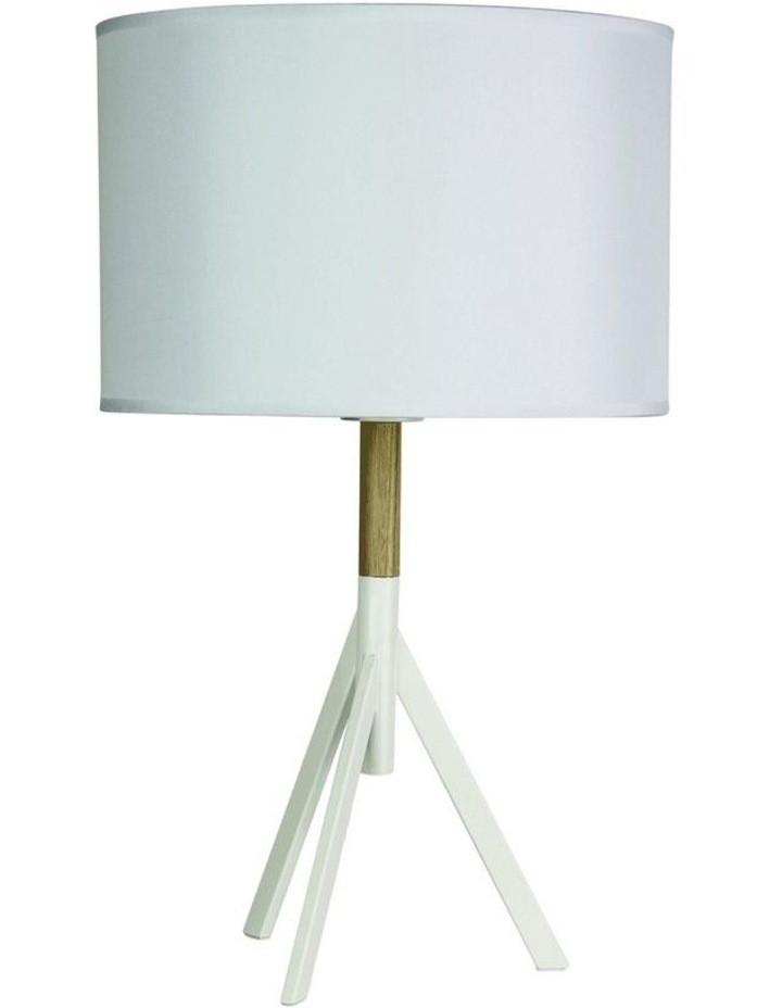Micky Complete Table Lamp White image 1
