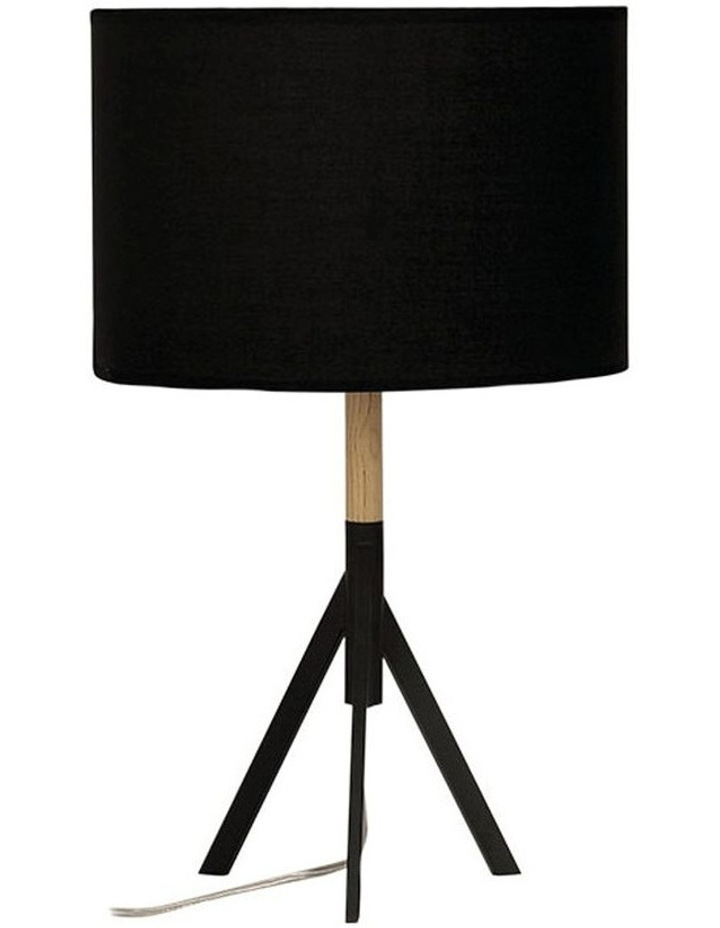 Micky Complete Table Lamp Black image 1