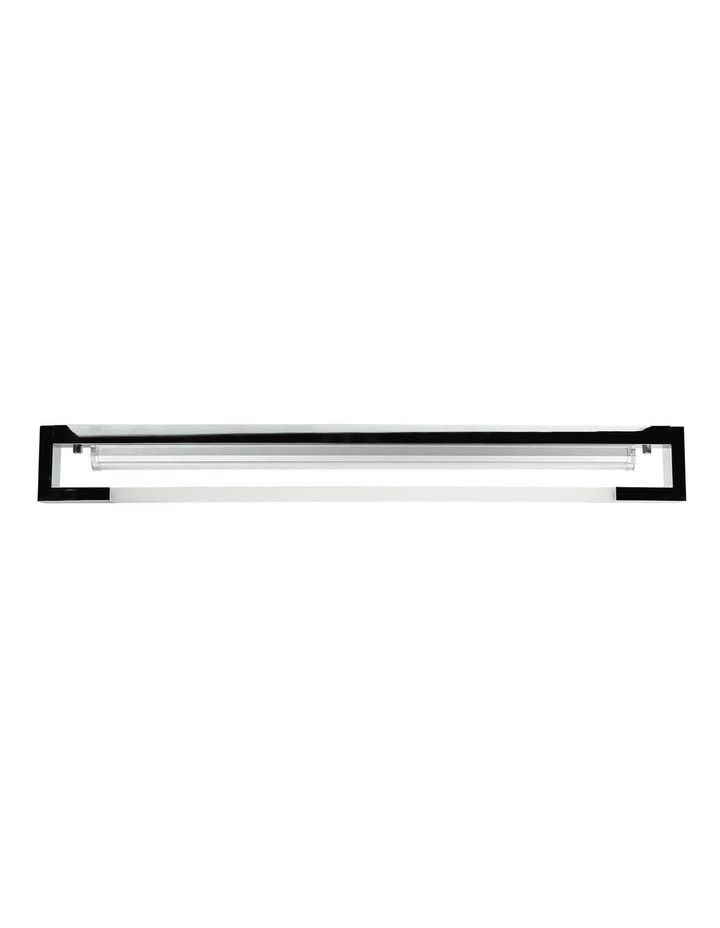 Dash LED Contemporary Vanity Ceiling Light 90cm Chrome image 1