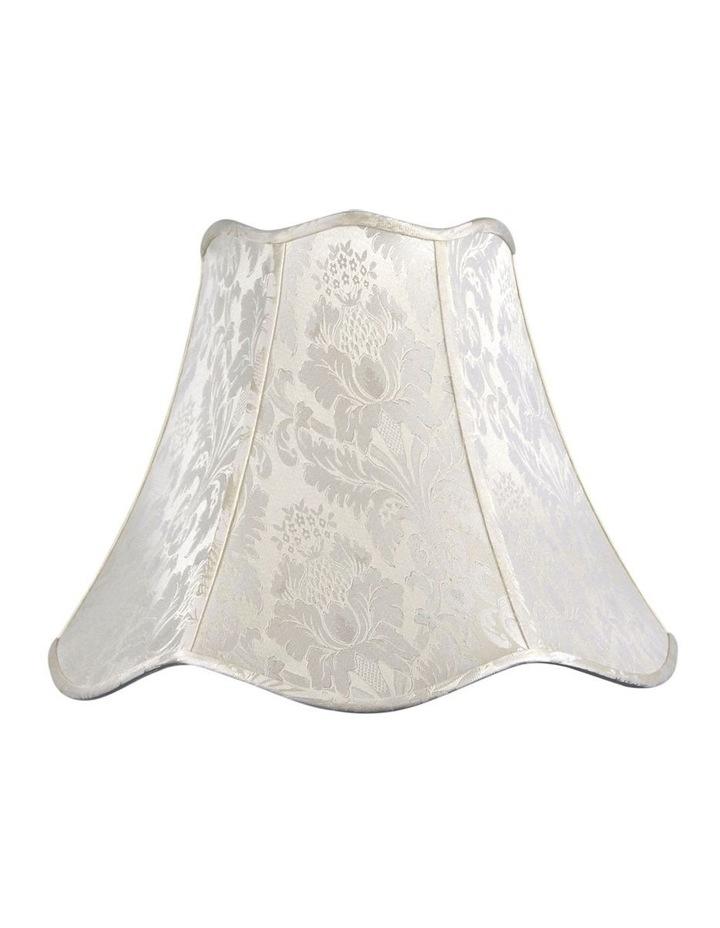 50cm Large Floor Lamp Shade IVORY JACQUARD image 1