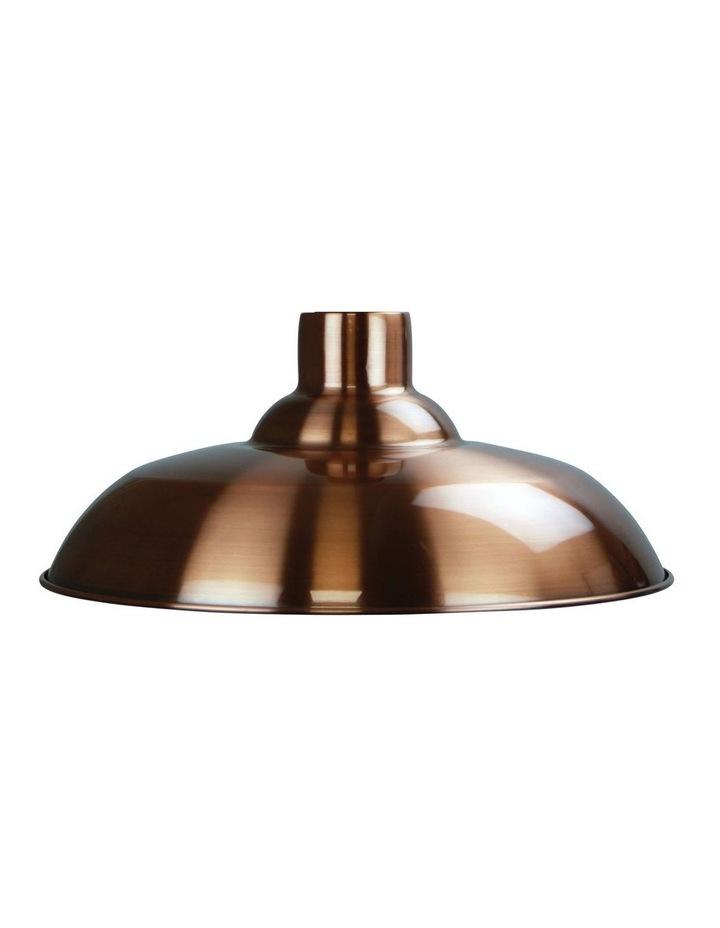 Slater Industrial Vintage Shade Brushed Copper image 1