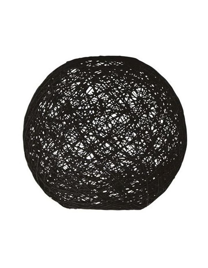 Kono DIY Flush Mount Lamp Shade Only Black 45cm image 1
