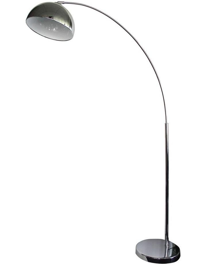 DomeArc Retro Floor Lamp Chrome image 1