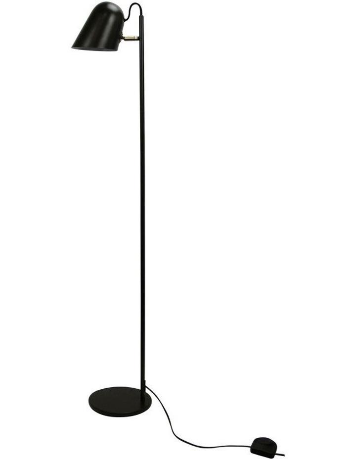 Black Oxford Floor Lamp image 1