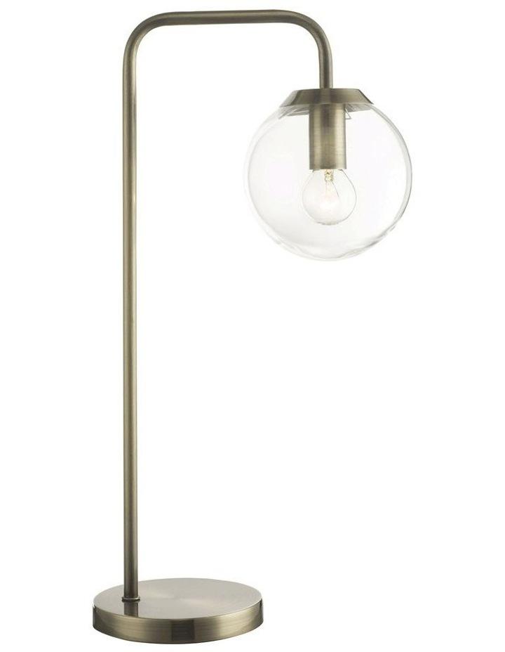 Newton Table Lamp Antique Brass image 1