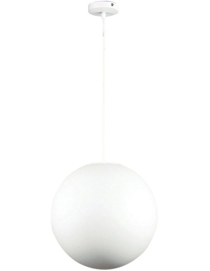 Phase Acrylic Sphere Pendant Light 30cm image 1