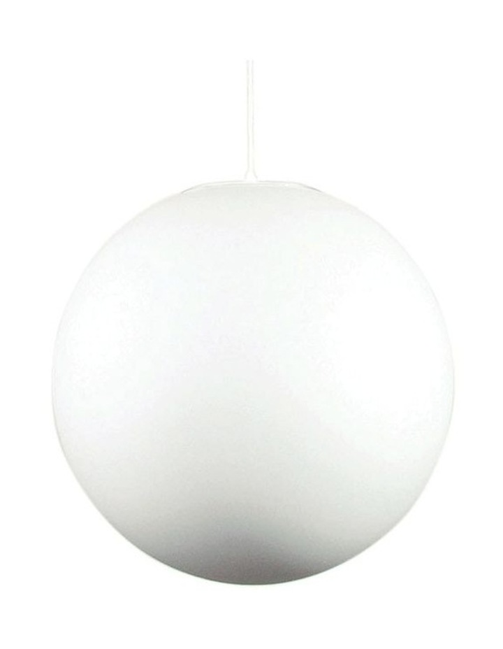 Phase Acrylic Sphere Pendant Light 40cm image 1