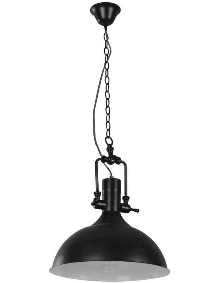 Cottage One Light Single Pendant Light Black image 1