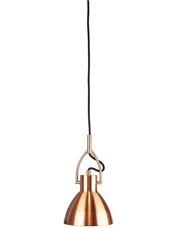 Perno Industrial Style Pendant Light Small Copper image 1