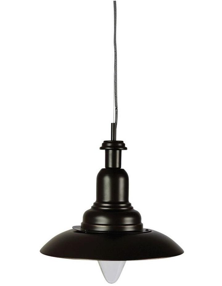 Capple Rubbed Bronze Industrial Pendant Light image 1