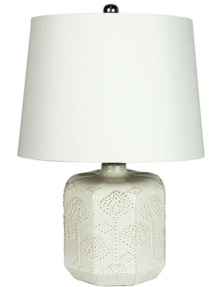 Bikki Complete Table Lamp Antique White image 1