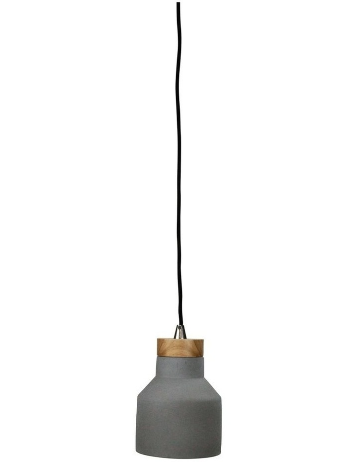 Panto 15W Concrete Finish Pendant Light image 1