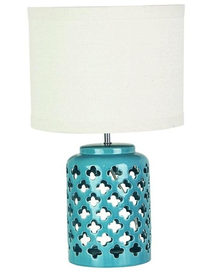 Casbah Moorish Table Lamp Blue image 1