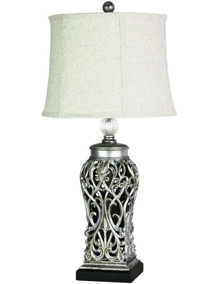 Dorne Classic table lamp Antique Silver image 1