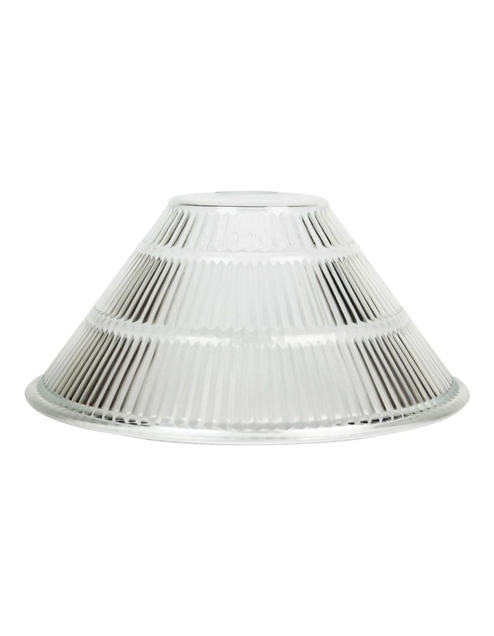Holo Clear Holophane Glass Shade Only image 1