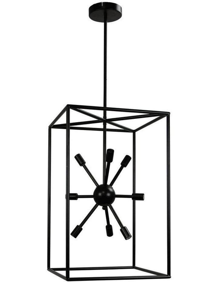 Georgetown Vertical Box Pendant Light image 1