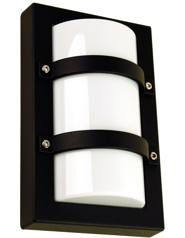 Trio Mini Exterior Bulkhead Light Black image 1