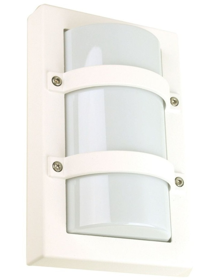Trio Mini Exterior Bulkhead Light White image 1