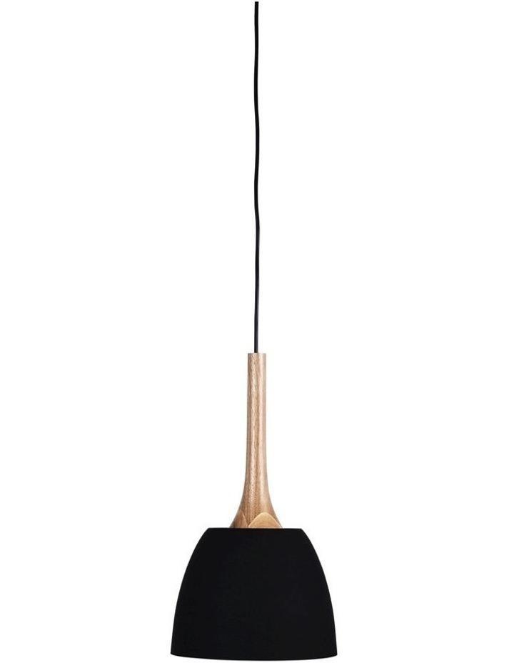 Malt 22cm Scandustrial Designed Pendant Black image 1