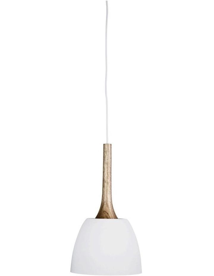 Malt 22cm Scandustrial Designed Pendant White image 1