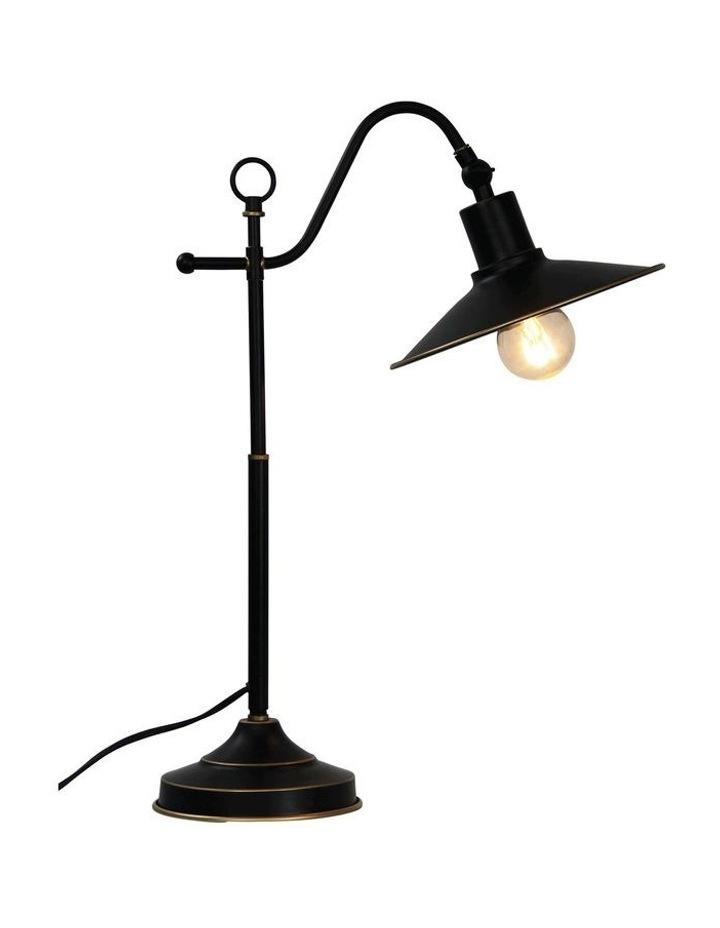 Boston Table Lamp Rubbed Bronze image 1